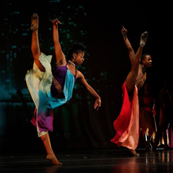 Dancers Performing On the Stage